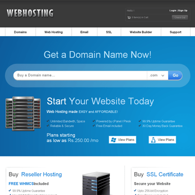 mobile site template free download - free download web hosting domain sales mobile web template