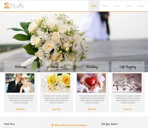 wedding planner website examples