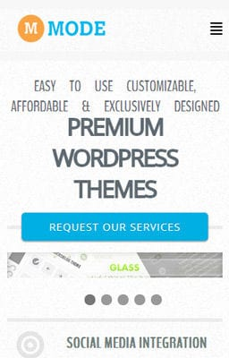 Free Iphone Smartphone web template Mode Corporate Flat Responsive web template