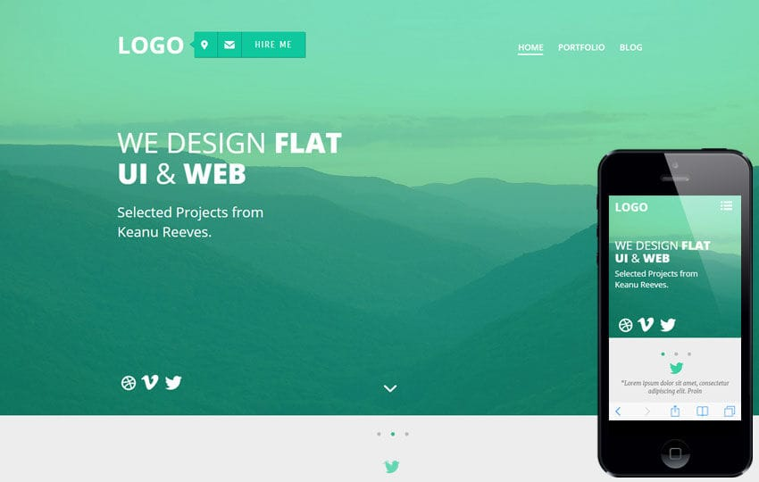 Web Design: Free Responsive HTML5 CSS3 Website Templates