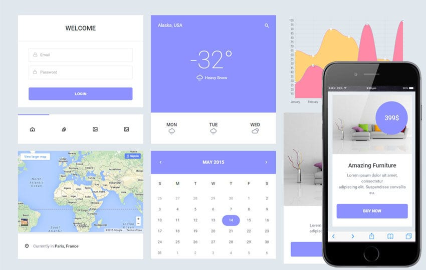 Epic UI Kit a Flat Bootstrap Responsive Web Template