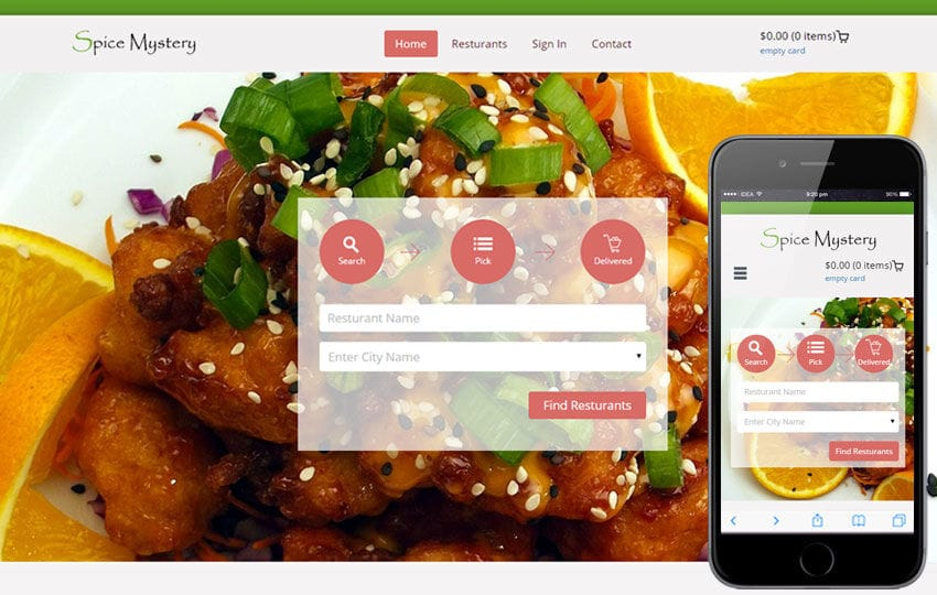 Spice Mystery a Hotel Category Flat Bootstrap Responsive Web Template Mobile website template Free