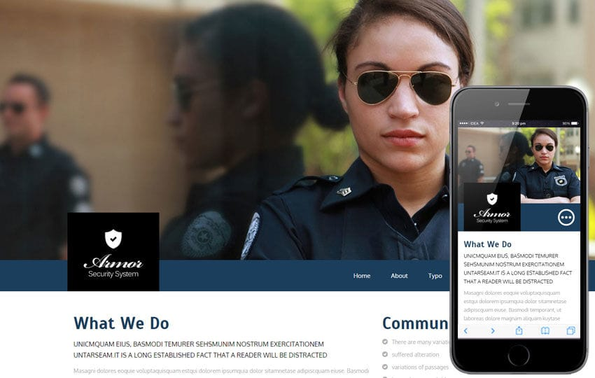 Armor a Services Category Flat Bootstrap Responsive Web Template