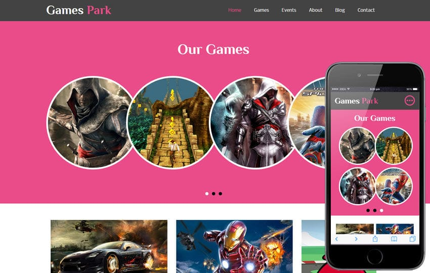 games park a games category flat bootstrap responsive web template by w3layouts. Black Bedroom Furniture Sets. Home Design Ideas
