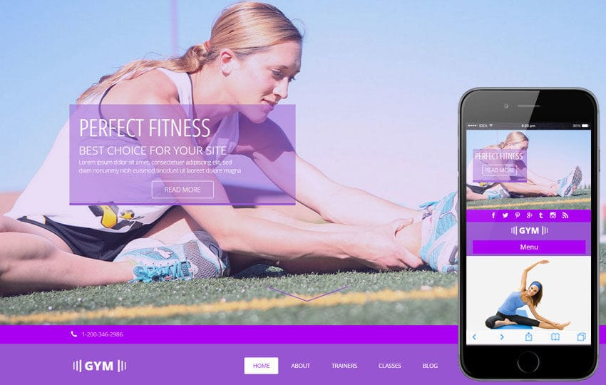 W3layouts  Fitness Templates Free