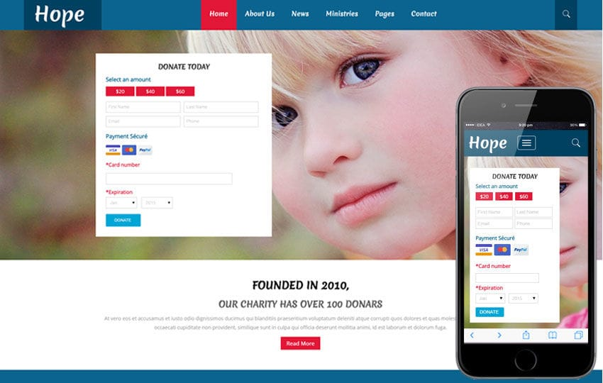 Charity Templates W3layouts