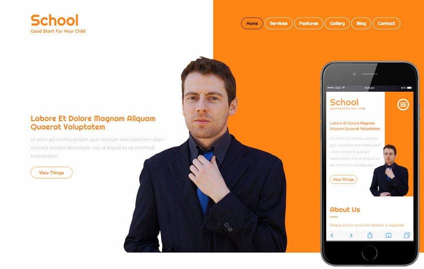 School a Educational Category Flat Bootstrap Responsive web template Mobile website template Free