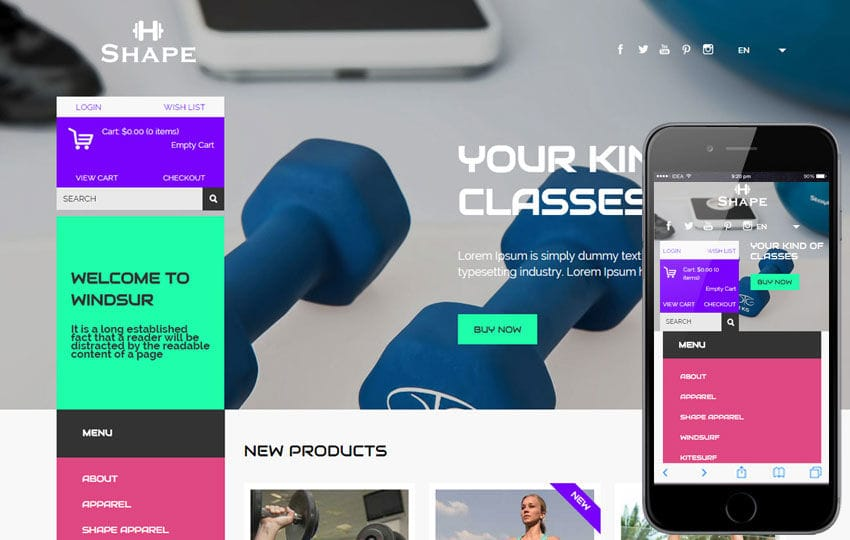 shape a flat ecommerce bootstrap responsive web template by w3layouts