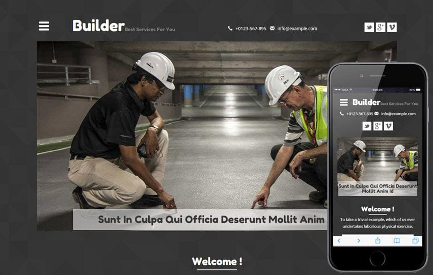 Builder A Real Estate Category Flat Bootstrap Responsive Web - Website template builder