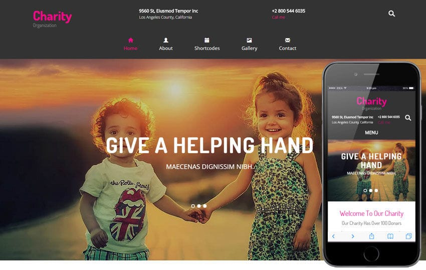 charity a charity category flat bootstrap responsive web template by