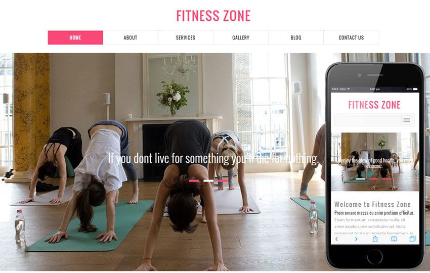 Fitness Zone a Sports Category Flat Bootstrap Responsive Web Template Mobile website template Free