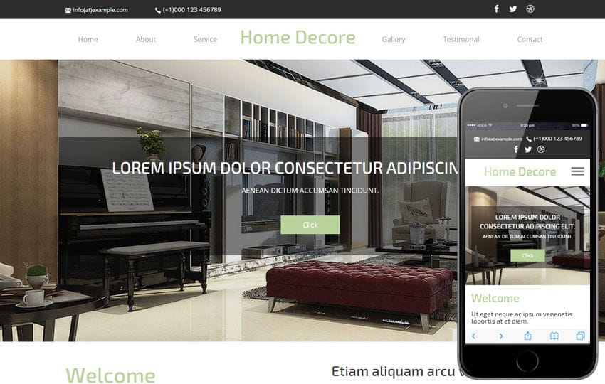 Furniture Design Templates interior furniture designs mobile website templates