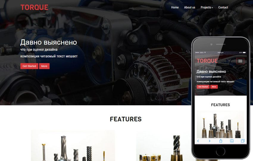 Torque a Industrial Category Flat Bootstrap Responsive Web Template Mobile website template Free