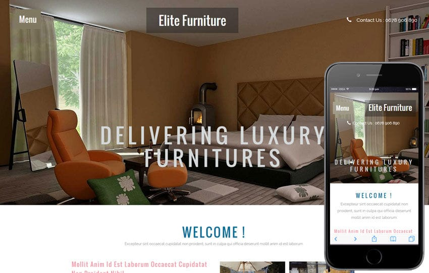 Elite Furniture a Interior Architects Multipurpose Flat Bootstrap Responsive Web Template