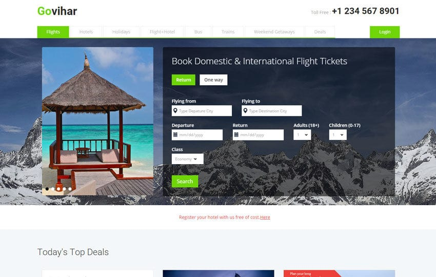Go Vihar a Travel Guide Flat Bootstrap Responsive web template by ... 3c323beaa75