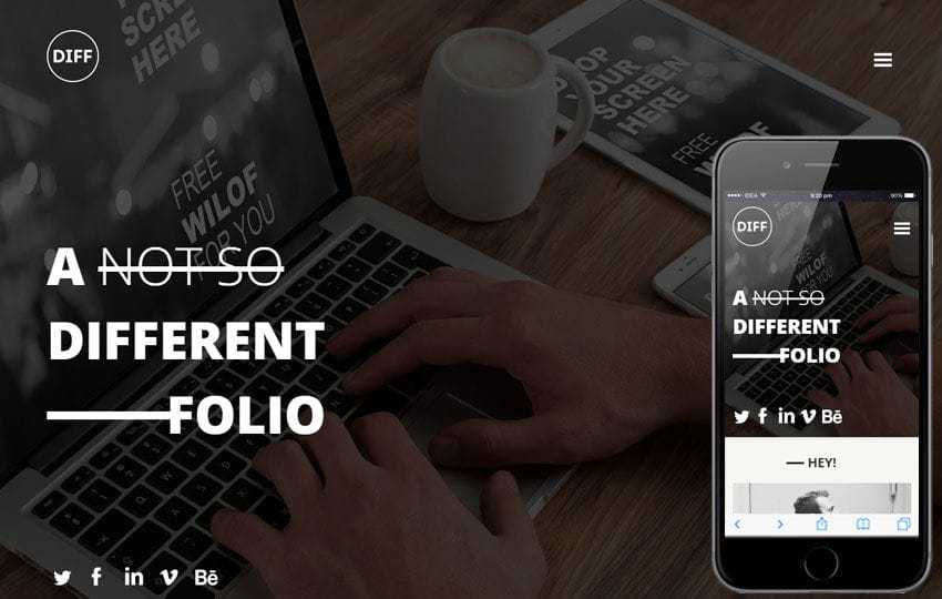 Diff a Corporate Business Flat Bootstrap Responsive Web Template