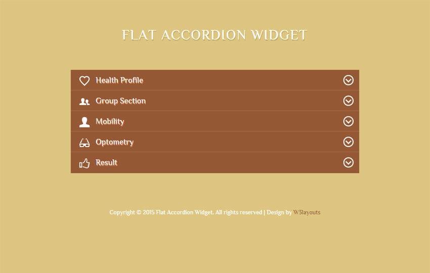 Accordion templates and examples| zozo accordion.