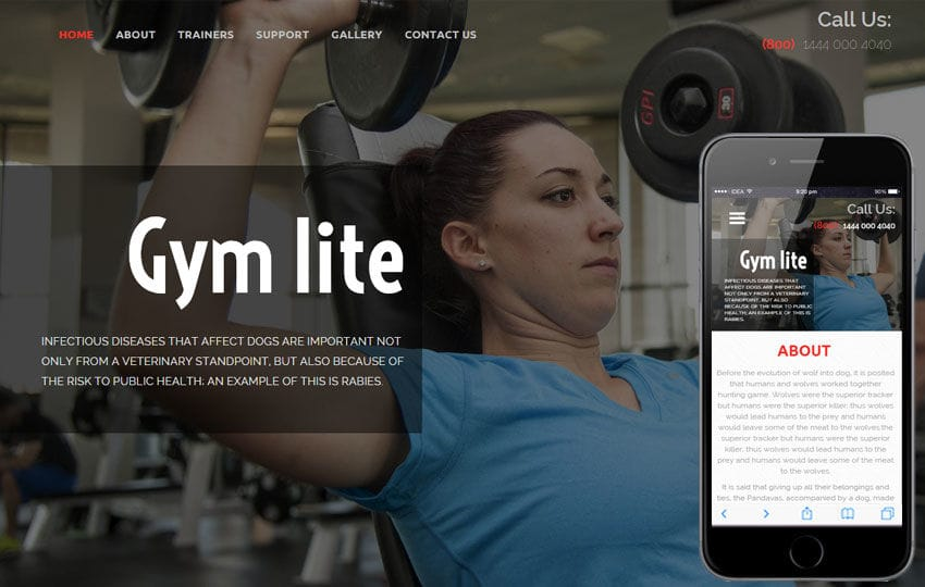 Gym Lite a Sports Category Flat Bootstrap Responsive Web Template Mobile website template Free