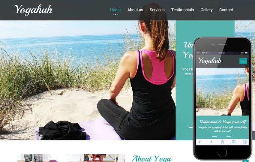 yoga hub a sports category flat bootstrap responsive web template by