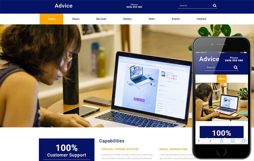 Advice a corporate business flat bootstrap responsive web template advice a corporate business flat bootstrap responsive web template friedricerecipe Gallery