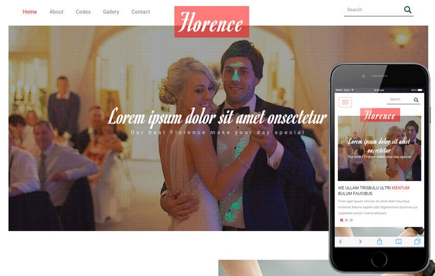 Events organizers w3layouts florence a wedding planner flat bootstrap responsive web template mobile website template free maxwellsz