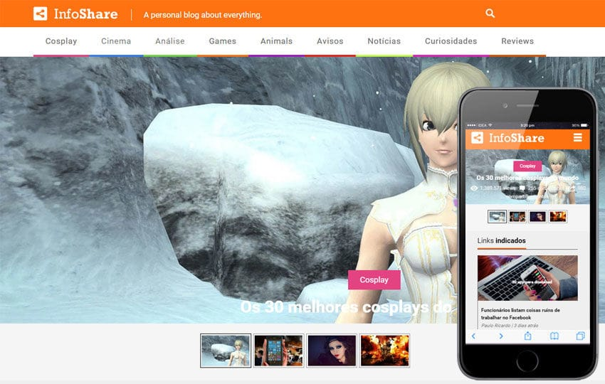 Info Share a Entertainment Category Flat Responsive Web Template Mobile website template Free