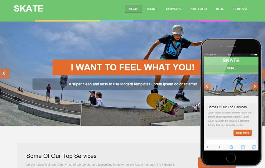 Skate a Sports Category Flat Bootstrap Responsive Web Template Mobile website template Free