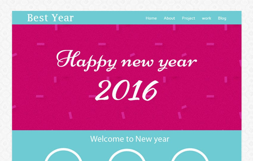 best year a newyear season newsletter responsive web template w3layoutscom