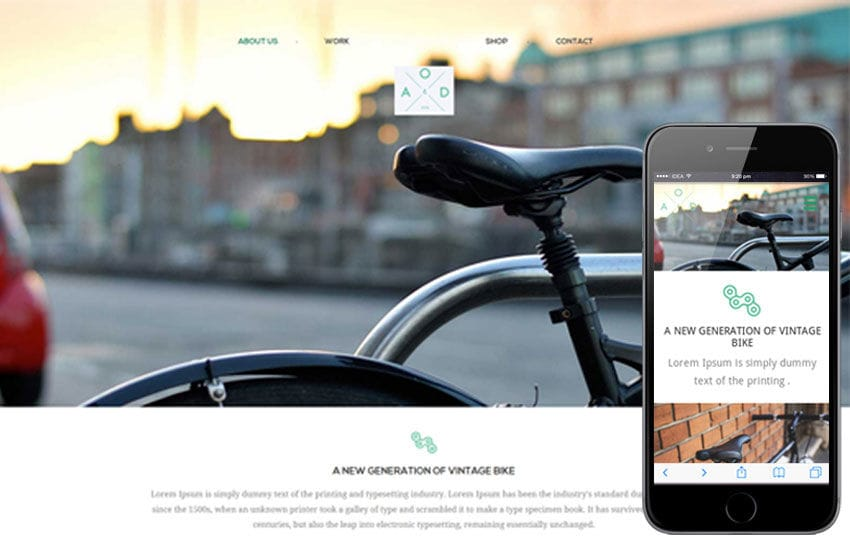 Bicycle a product based flat responsive web template by w3layouts bicycle a product based flat responsive web template pronofoot35fo Gallery
