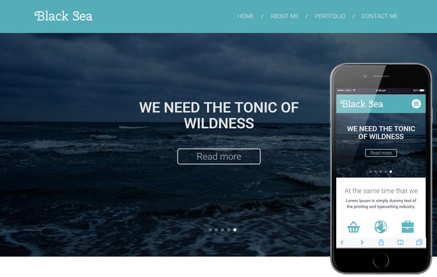 Black Sea a Corporate Multipurpose Flat Bootstrap Responsive web template Mobile website template Free