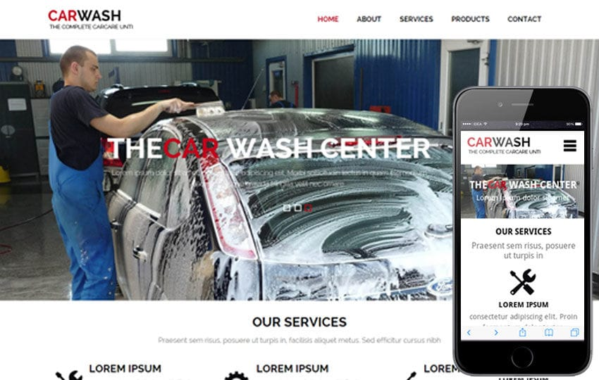 Car Wash a AutoMobile Category Flat Bootstrap Responsive Web Template