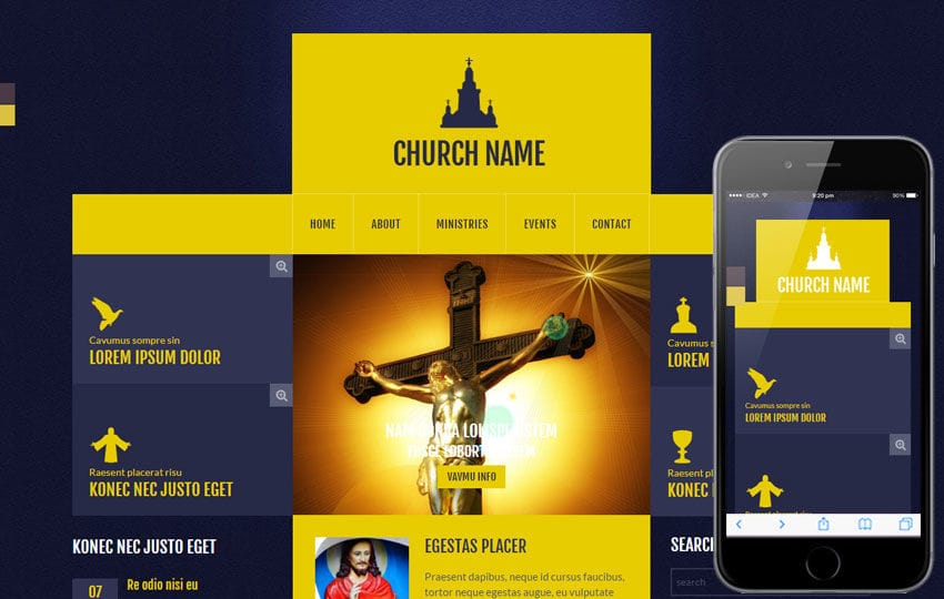 Church a Religious Category Flat Bootstrap Responsive Web Template Mobile website template Free