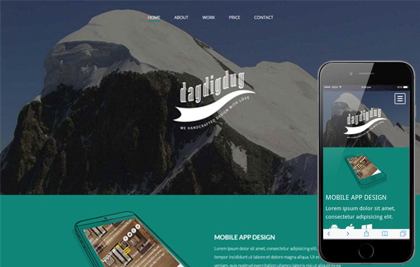 Dagdigdug a landingpage Multipurpose Flat Bootstrap Responsive web template Mobile website template Free