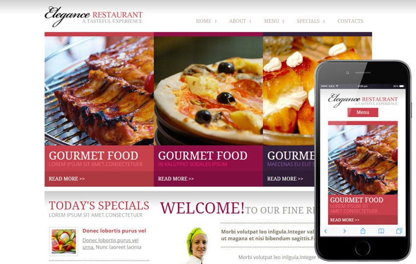 Elegance a Hotel Category Flat Bootstrap Responsive web template Mobile website template Free