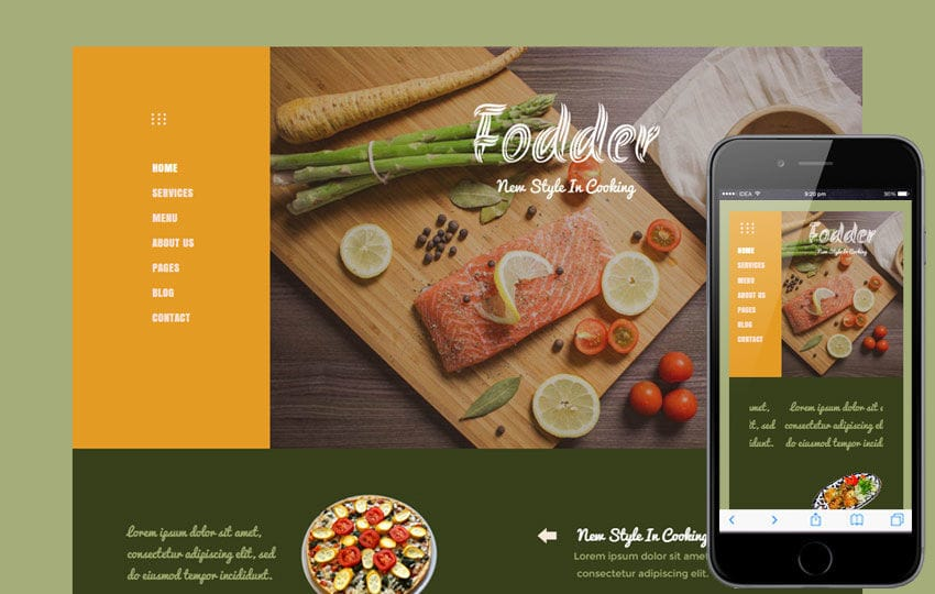 Fodder a Hotel Category Flat Bootstrap Responsive Web Template Mobile website template Free