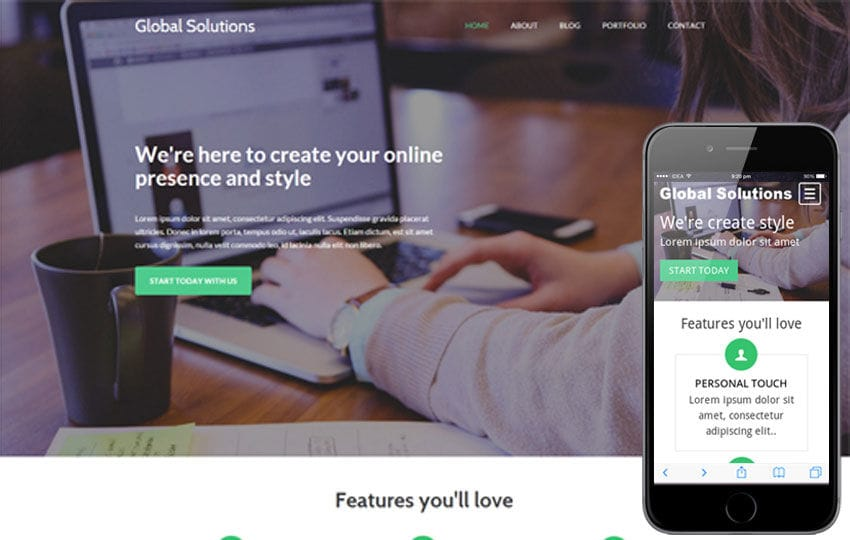 Global Solutions a Corporate Business Flat Bootstrap Responsive web template Mobile website template Free