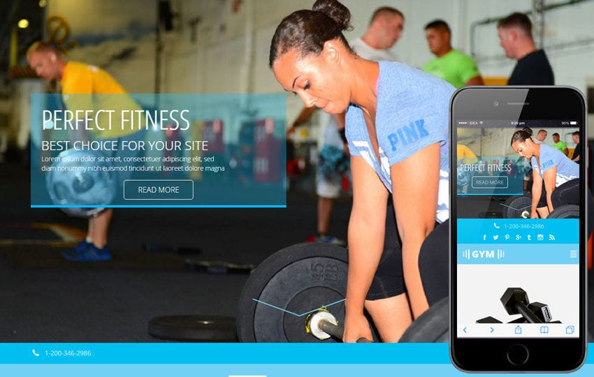 Amazing W3layouts Within Fitness Templates Free