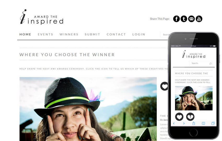 Inspired a Fashion Category Flat Bootstrap Responsive Web Template Mobile website template Free
