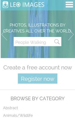 Free Iphone Smartphone web template Leo Images a Flat Gallery Responsive Web Template
