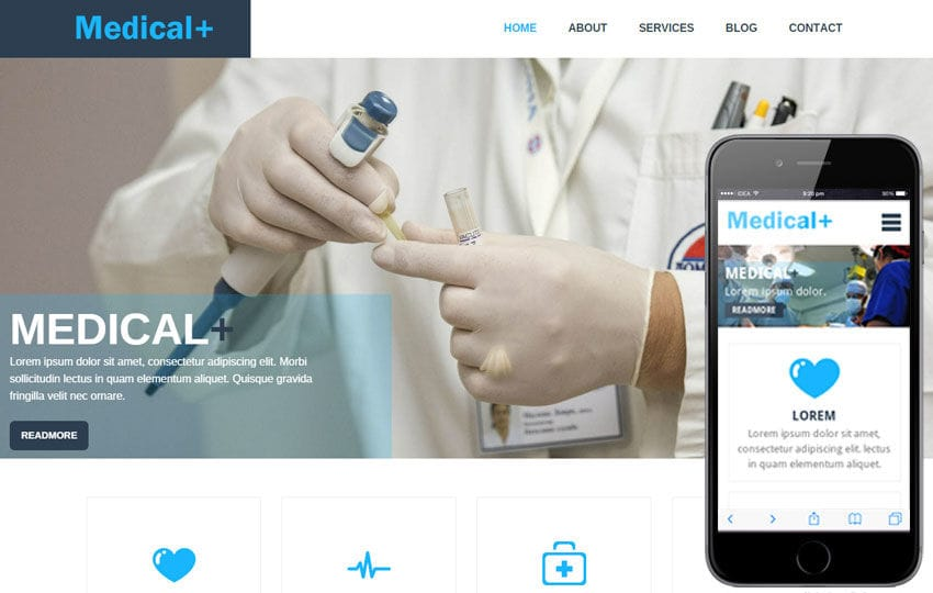 Medical Pluse a  Medical Category Flat Bootstrap Responsive web template Mobile website template Free