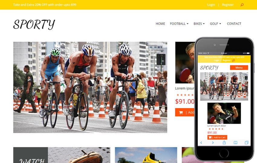 Sporty a Sports Category Flat Bootstrap Responsive web template Mobile website template Free