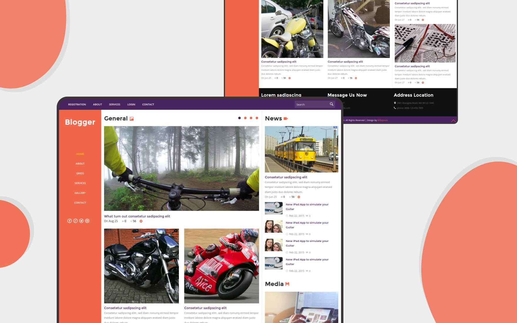 40+ Free Blog Website Templates - W3Layouts
