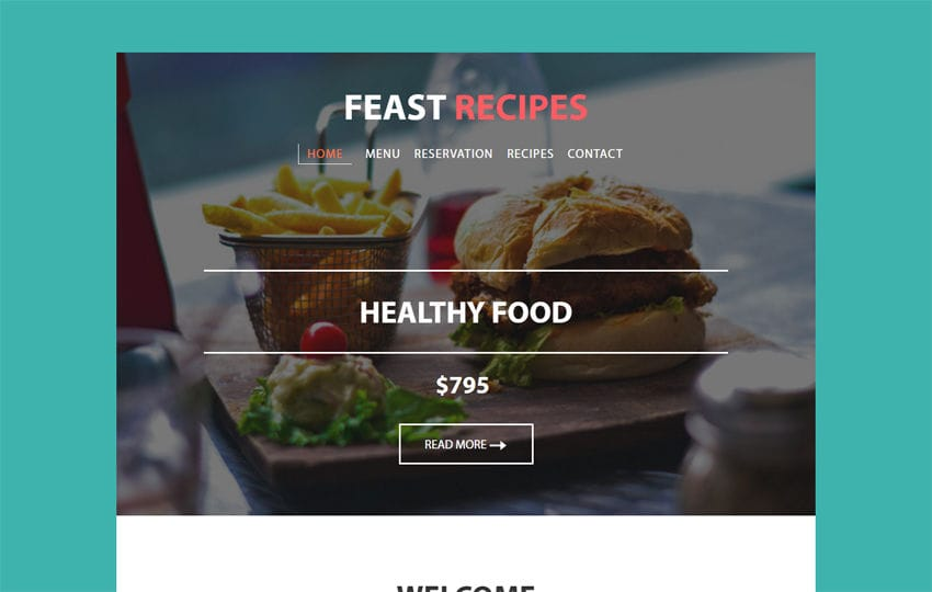 Feast recipes a newsletter responsive web template w3layouts feast recipes a newsletter responsive web template forumfinder Images
