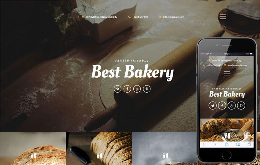 Best Bakery a Hotel Category Responsive Web Template - w3layouts.com