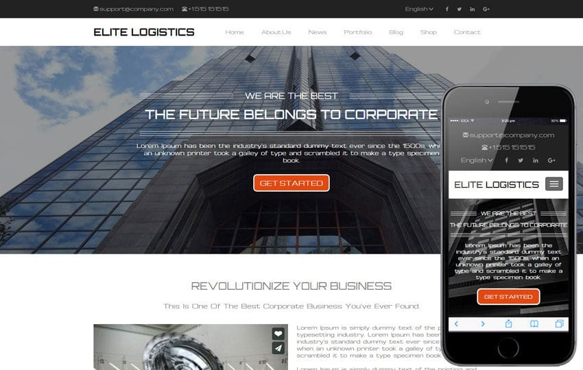 Elite logistics a corporate category responsive web template elite logistics a corporate category responsive web template cheaphphosting Choice Image