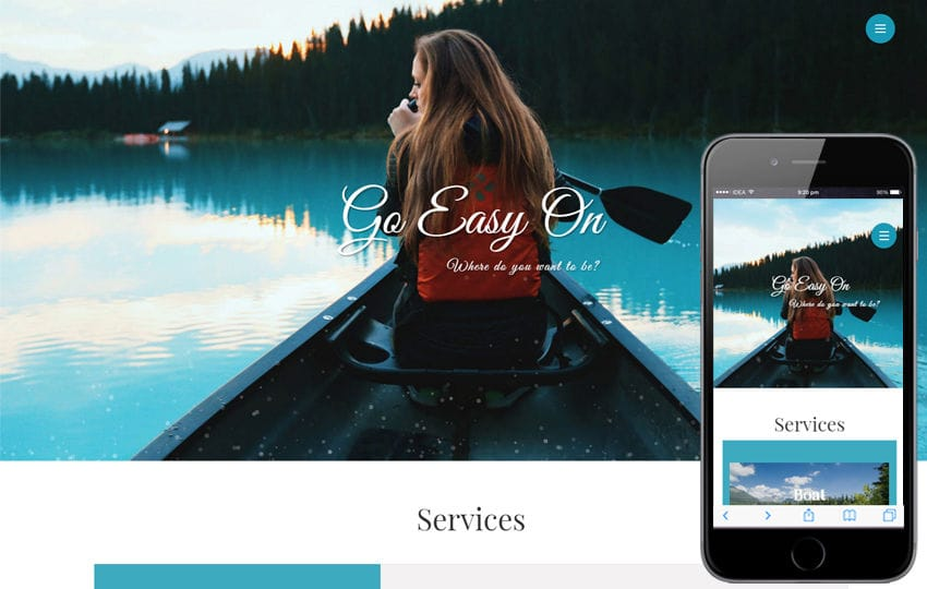 Go Easy On a Travel Category Flat Bootstrap Responsive Web Template Mobile website template Free