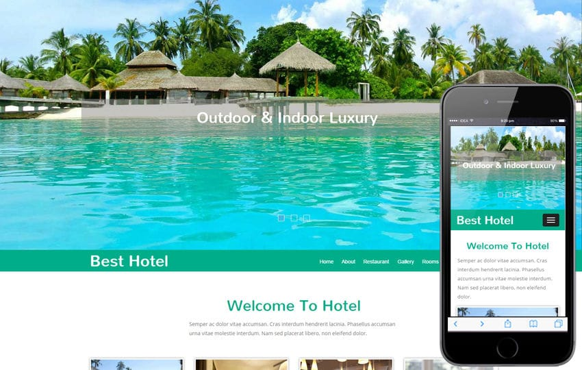 Best Hotel a  Travel Category Flat Bootstrap Responsive web Template Mobile website template Free