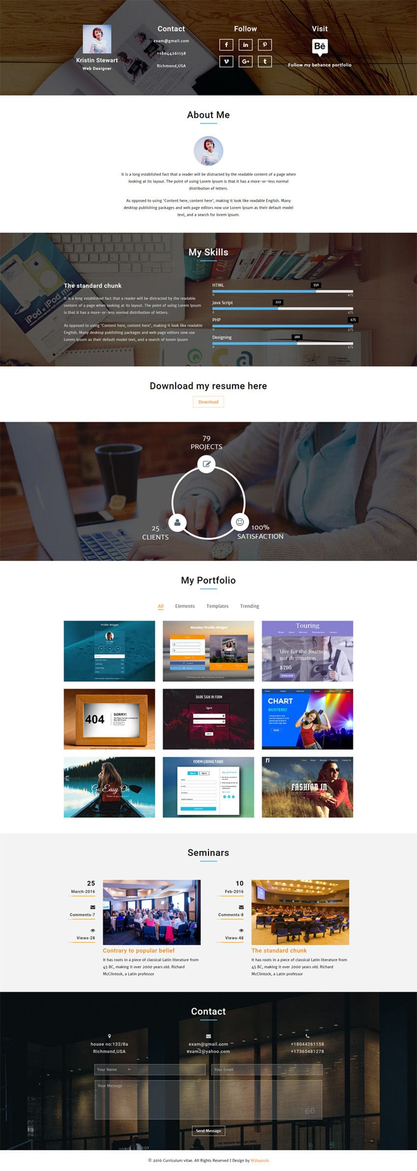 curriculum vitae a personal category flat bootstrap responsive web template. Black Bedroom Furniture Sets. Home Design Ideas