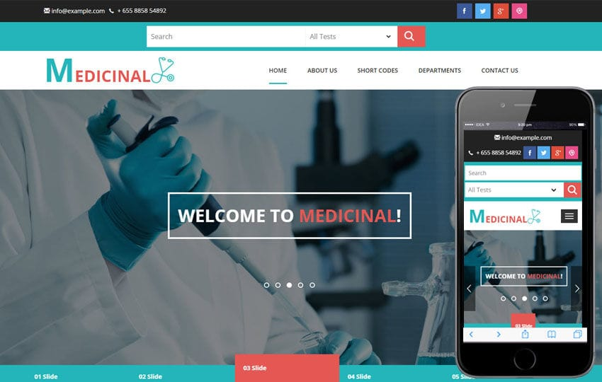 Medicinal a Medical Category Flat Bootstrap Responsive Web Template Mobile website template Free