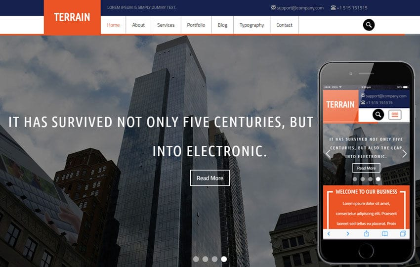 Terrain a Real Estate Category Flat bootstrap Responsive web Template Mobile website template Free